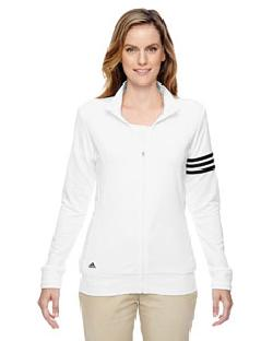 adidas Golf A191 - Ladies' climalite 3-Stripes Full-Zip Jacket