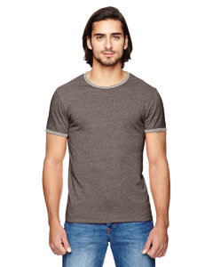 Alternative 01957E - Men's Eco-Mock Twist Ringer Crew