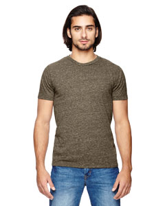 Alternative 01993E1 - Men's Drop Neck Eco-Jersey Crew