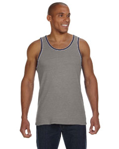 Alternative 22060E1 - Men's Double Ringer Tank