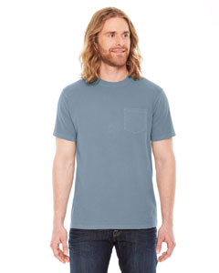 Authentic Pigment AP201 - Men's XtraFine Pocket T-Shirt