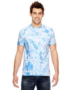 Dyenomite 365PR - Team Paw Print Tie-Dyed T-Shirt
