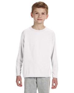 Gildan G424B - Performance Youth 4.5 oz. Long-Sleeve ...