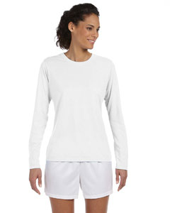 Gildan G424L - Performance Ladies' 4.5 oz. Long-Sleeve ...