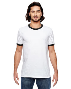 Anvil 988AN - Lightweight Ringer T-Shirt