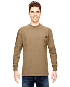 Dickies WL450 - 6.75 oz. Heavyweight Work Long-Sleeve ...