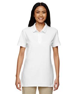 Gildan - G828L Premium Cotton Ladies' 6.5 oz. Double ...