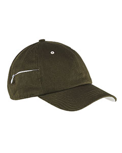 Big Accessories BA530 - Chino Stash Pocket Cap