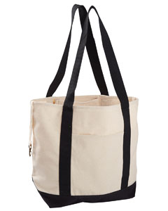 Econscious EC8035 - 12 oz. Organic Cotton Canvas Boat Tote Bag