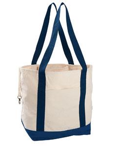 Econscious EC8035 - 12 oz. Organic Cotton Canvas Boat Tote Bag
