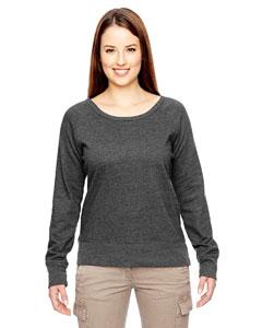 Econscious EC4505 - Ladies' 7 oz. Organic/Recycled Heathered Fleece Raglan Pullover