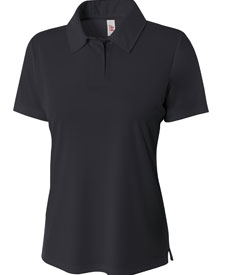 A4 - A4NW3261 Women Solid Interlock Polo