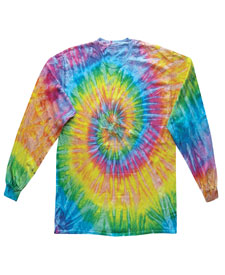 Colortone - T322P Adult Saturn Long Sleeve Tie Dye Tee