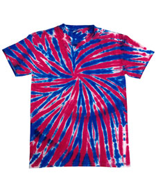 Colortone - T985R Union Jack Yth Tie Dye