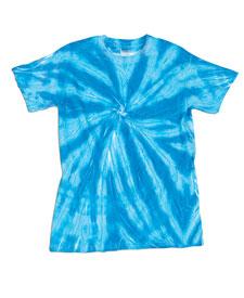 Dyenomite - D20BNT Yth Neon Pinwheel Tie Dye