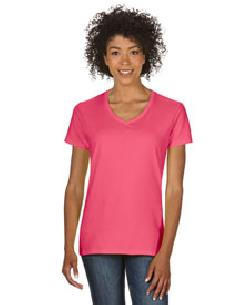 Gildan - G5V00L Heavy Cotton Ladies V Neck T