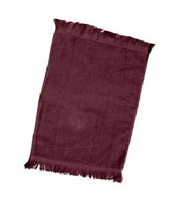 Q-Tees of California - Q0T100 Fingertip Towel Fringed End