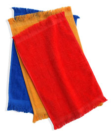 Q-Tees of California - Q0Tl11 Fingertip Towel Fringed Ends