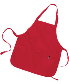Q-Tees of California - Q4250 Med Length Apron 3 Compartment