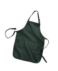 Q-Tees of California - Q4350 Full Length Apron - 2 Pockets