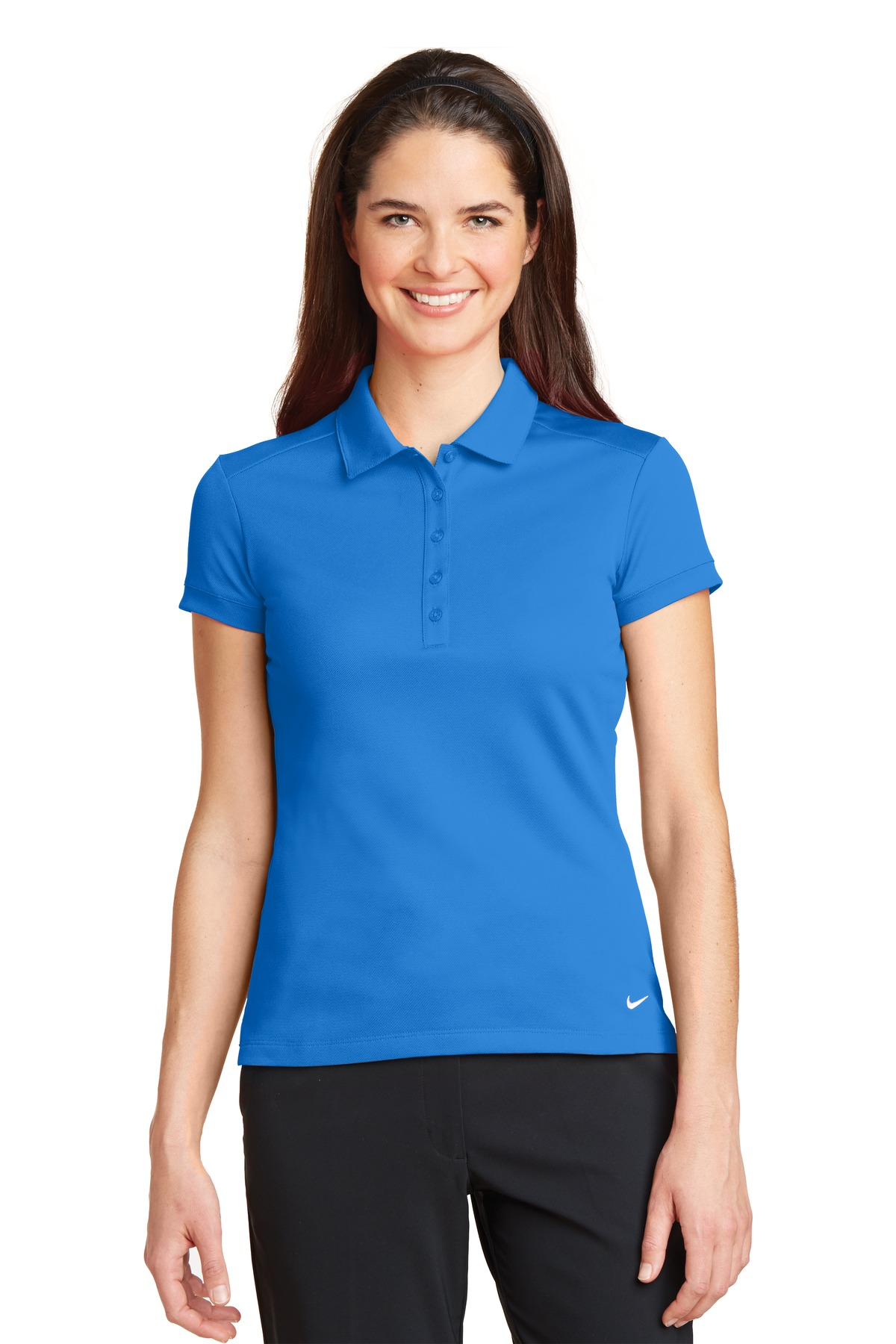 Nike Golf 746100 - Ladies Dri-FIT Solid Icon Pique Polo - Women s T ... b63d8a17cd3