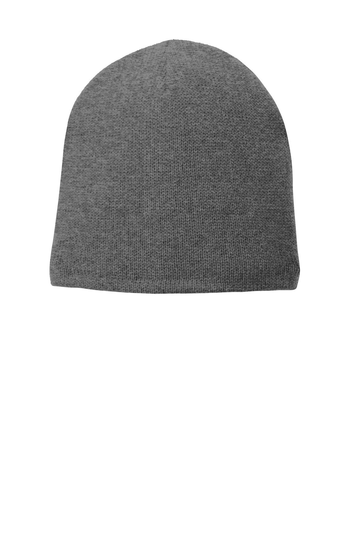 Port   Company CP91L - Fleece-Lined Beanie Cap - Headwear 3750ee518df
