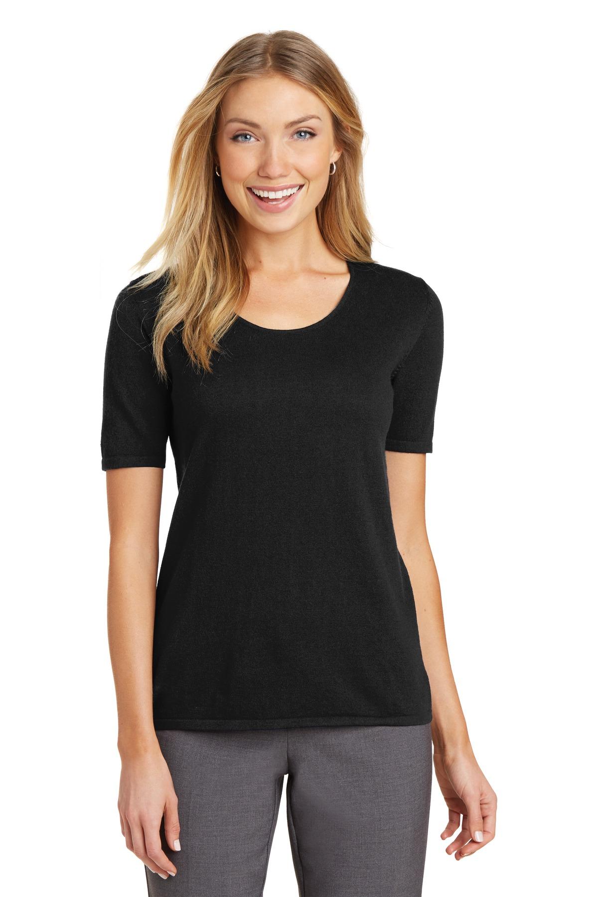 Port Authority LSW291 - Ladies Scoop Neck Sweater - Women's T-Shirts