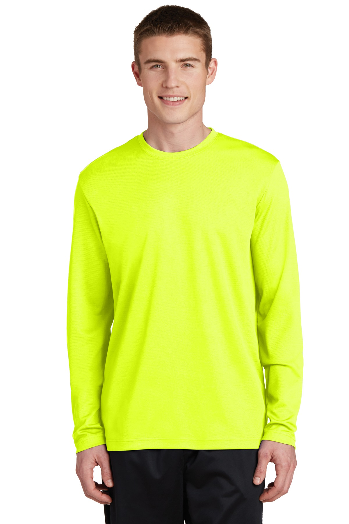 Sport-Tek PosiCharge ST340LS - RacerMesh Long Sleeve Tee - T Shirts