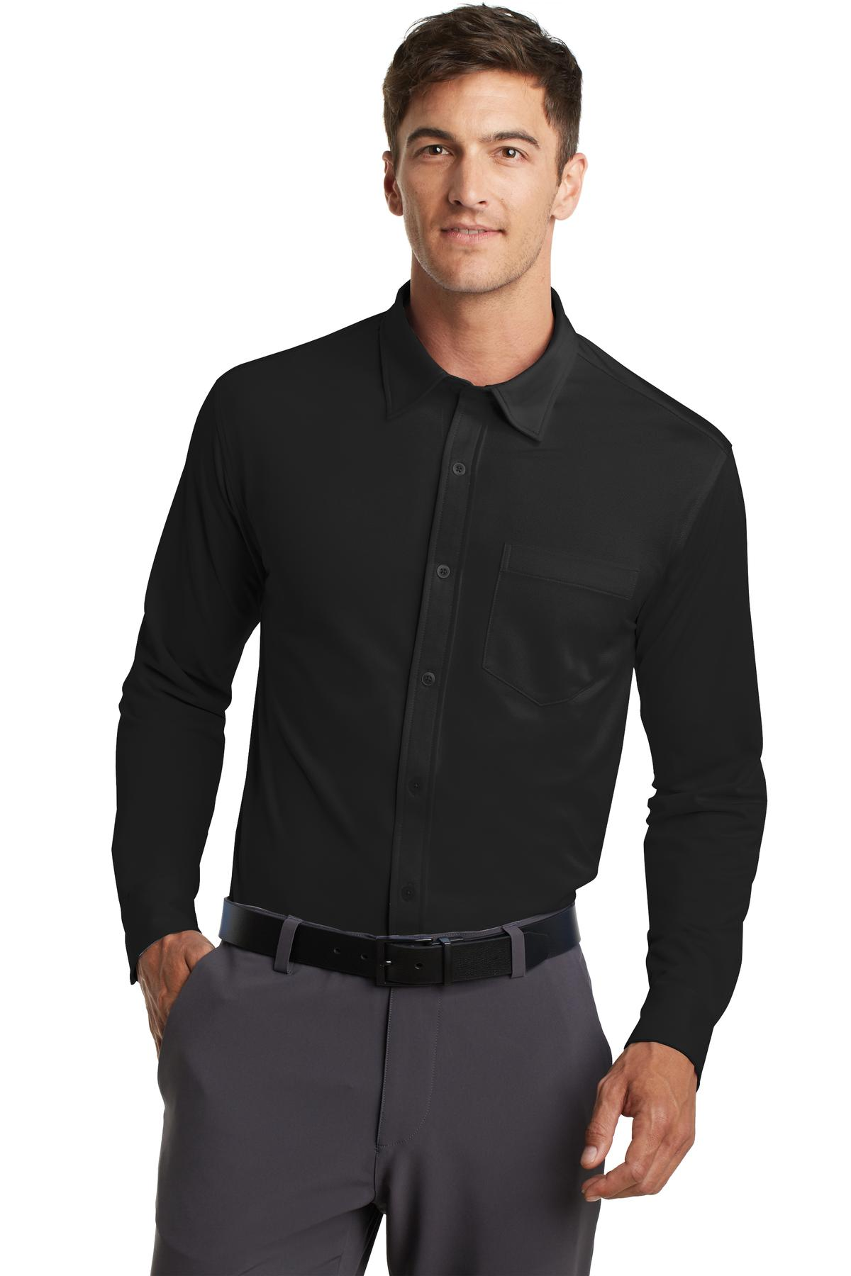 Port Authority® K570 - Dimension Knit Dress Shirt - Men's Woven Shirts