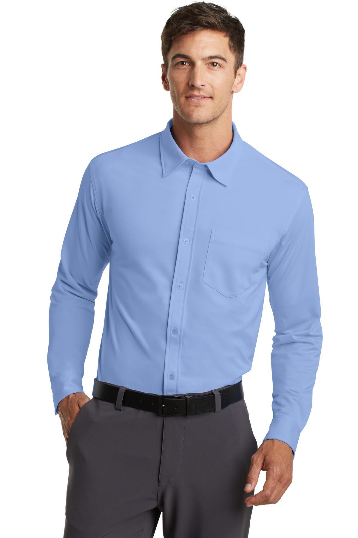 click to view Dress Shirt Blue