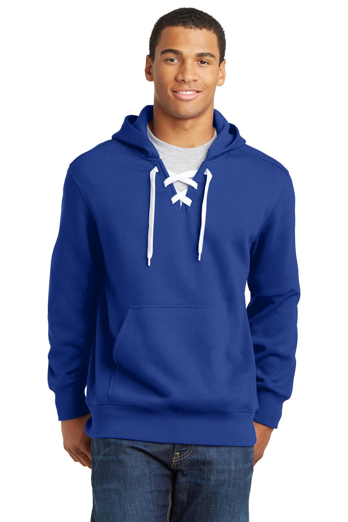 Sport Tek 174 St271 Lace Up Pullover Hooded Sweatshirt
