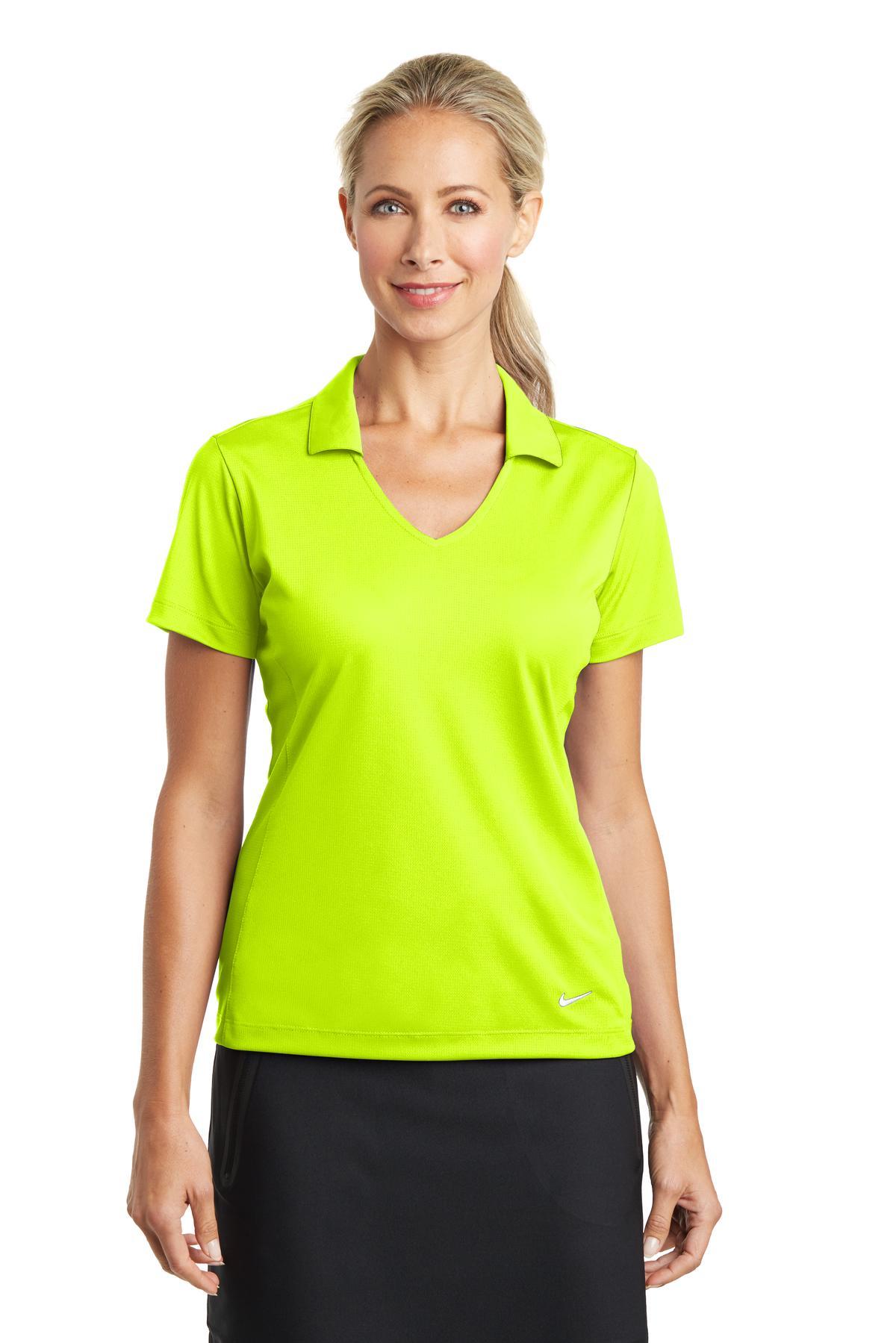 58aad6e97 Nike Golf 637165 - Ladies Dri-FIT Vertical Mesh Polo - Women s T-Shirts