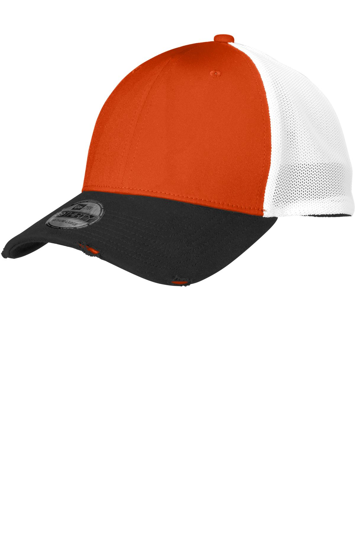 click to view Black/ Deep Orange / White