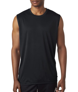 UltraClub Mens Cool/&Dry Performance Sleeveless T-Shirt Moisture wicking 8419