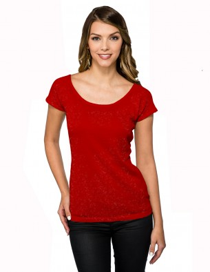 click to view METALLIC RED