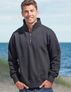 Enza 354 - Quarter Zip Fleece Pullover $18.63 - Men's Outerwear