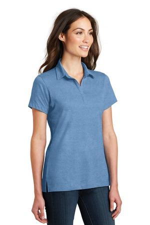 Port AuthorityMens Long Sleeve Meridian Blend Polo Shirt