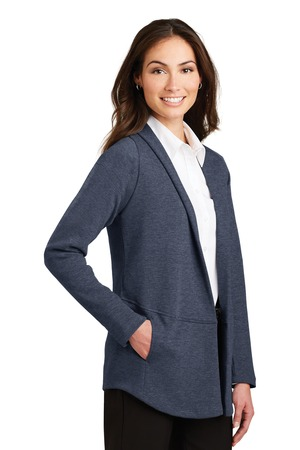 click to view Estate Blue Heather/ Charcoal Heather