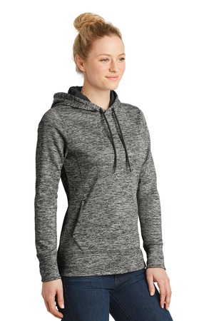 Sport-Tek® LST225-Ladies PosiCharge® Electric Heather Fleece ...