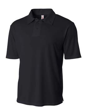 A4 - A4N3261 Solid Interlock Polo