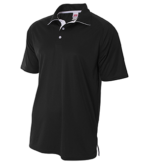 A4 - A4N3293 Men's Contrast Polo