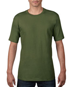 Anvil 420 Organic Cotton Short Sleeve T-Shirt