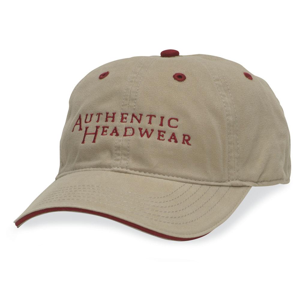 Authentic Headwear AH36 舒适对比色帽子