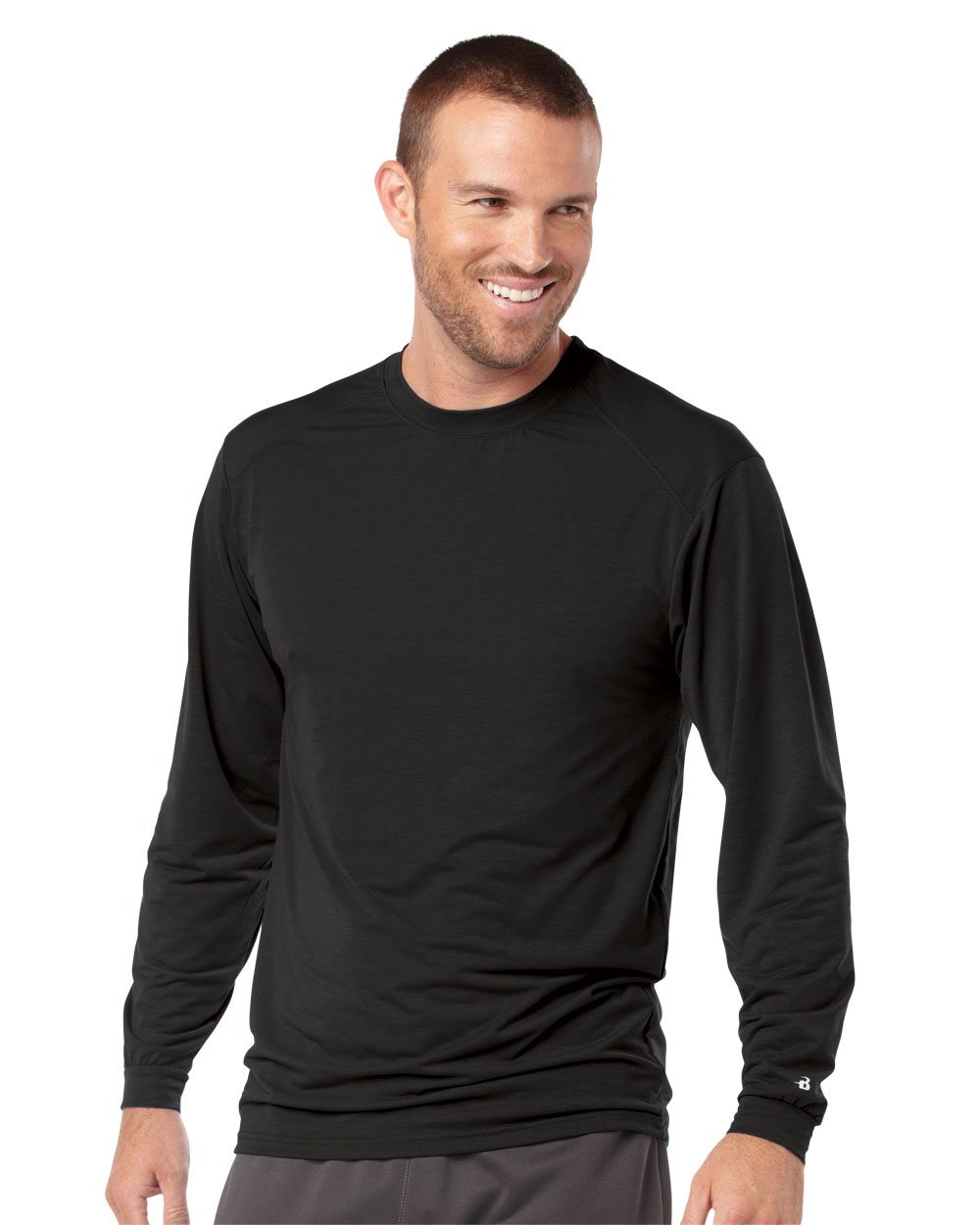 Badger 4804 - B-Tech Cotton-Feel Long Sleeve T-Shirt