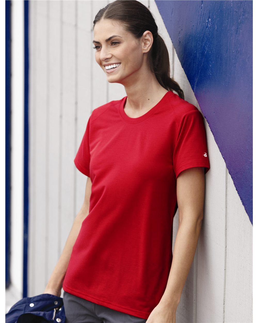 Badger 4860 - Ladies' B-Tech Cotton-Feel Short Sleeve T-Shirt