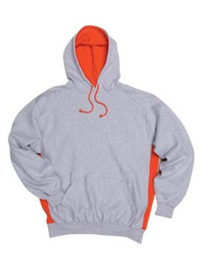 Badger Sport 1250 Contrast Color Underarm Hooded Sweatshirt