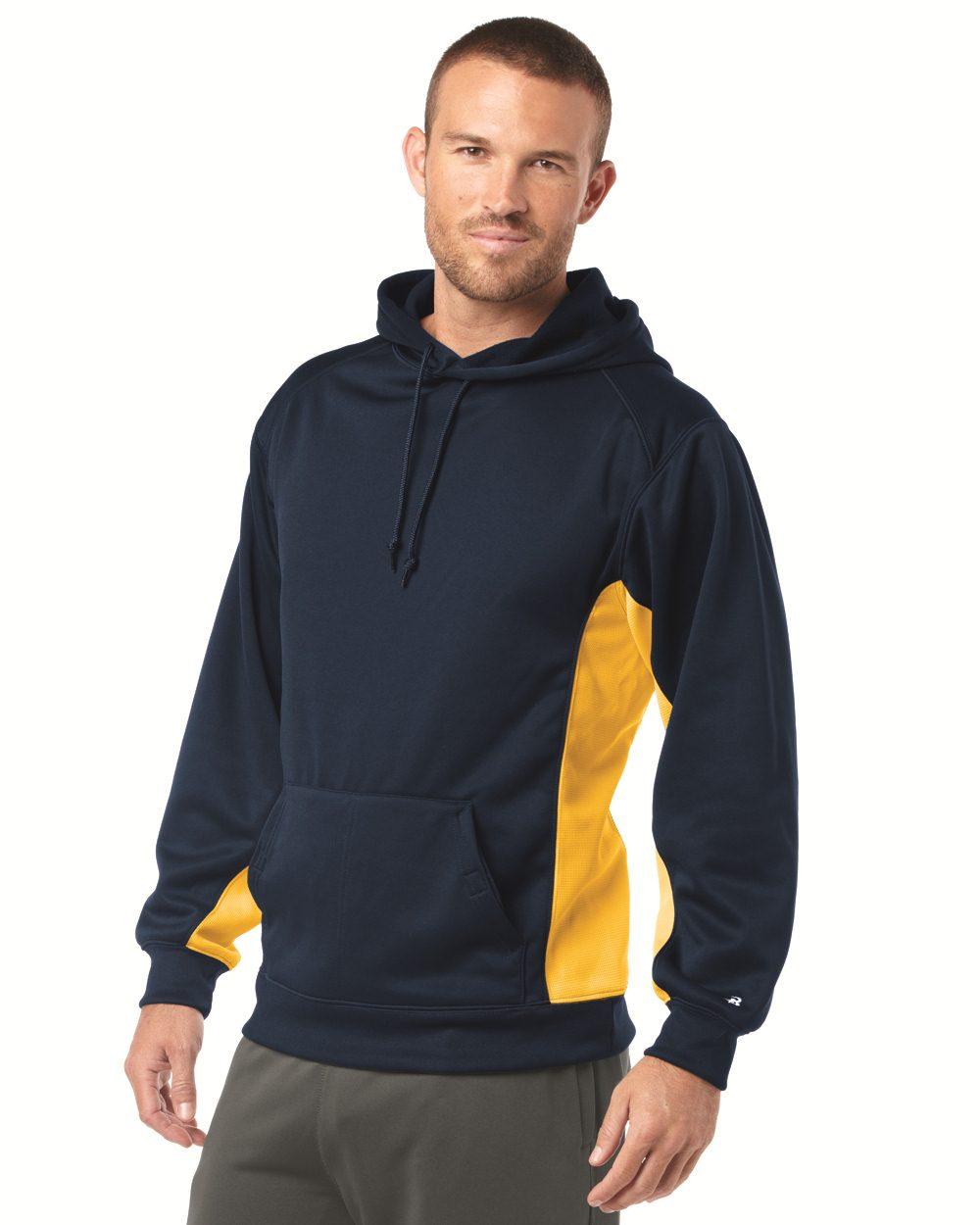 Badger Sport 1454 BT5 Moisture Management Hooded Sweatshirt