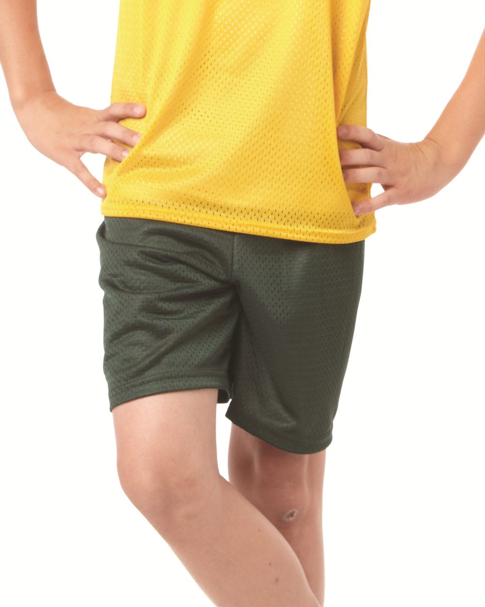 Badger Sport 2207 6  Youth Pro Mesh Shorts