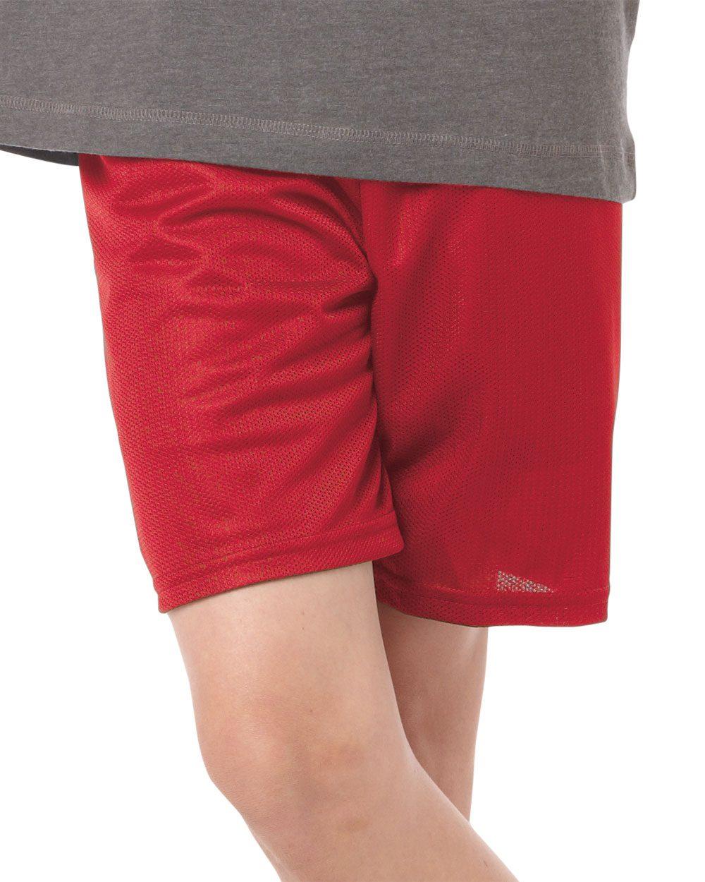 Badger Sport 2237 中青年青少年6 裤腿内缝网眼短裤