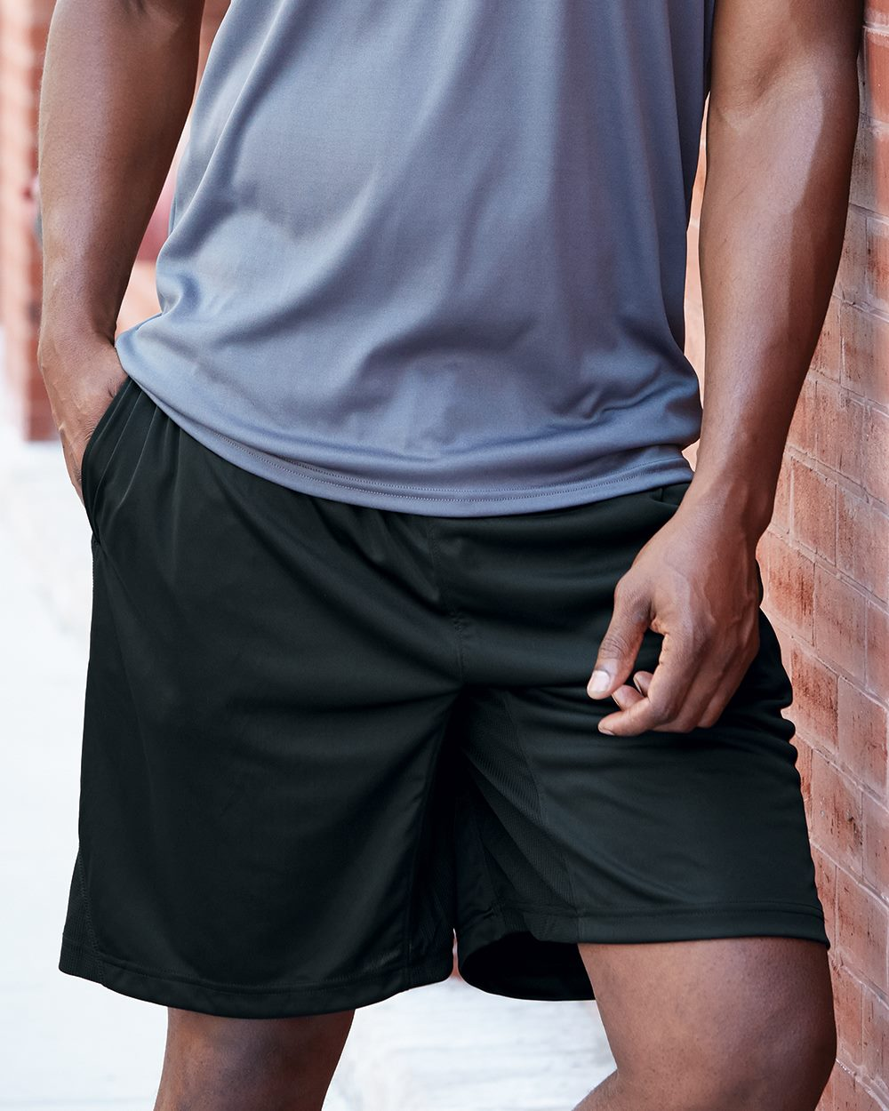 Badger Sport 4110 B-Dry 8  Inseam Trainer Shorts